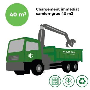 Chargement immédiat – 40 m3