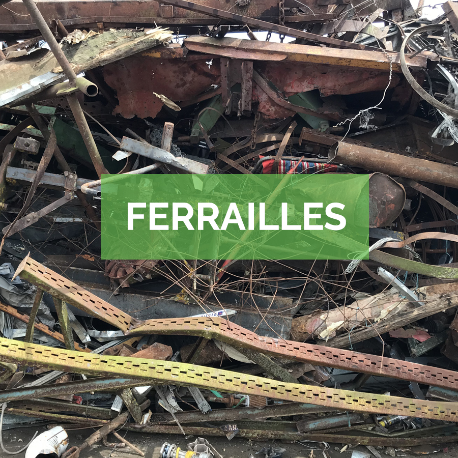 Achat ferraille et métaux en Gironde par Masse Environnement